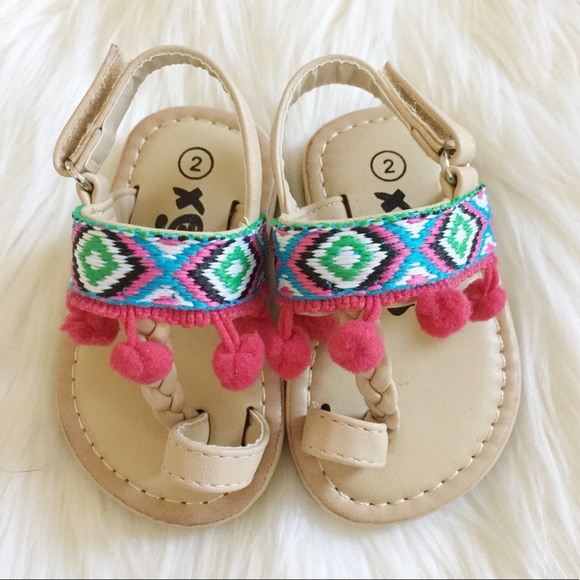 Shoes   Pom Pom Baby Girl Sandals